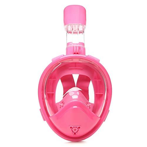 Niños de seco-completo que nada la máscara antibalas de la máscara de la seguridad de los niños de la cara del niño del plano de la superficie de la inmersión de las gafas de submarinismo subacuáticas