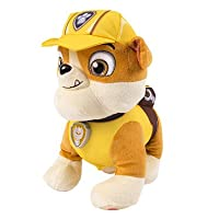 Paw Patrol Talking Soft Toy - Rubble
