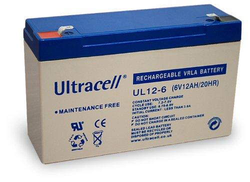 Wentronic 48322 Acido piombo (VRLA) 12000mAh 6V batteria ricaricab