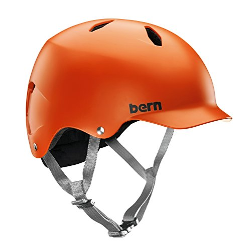 Bern Jungen Helm Bandito EPS Thin Shell matt orange, M/L (Orange Jungen Ski Helm)