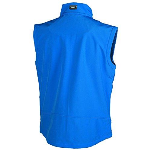 Weste Softshell Fastnet-Pen Duick, grau, oxPK765-DGY-M marineblau