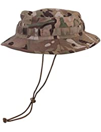 Mens Multicam Army Military Bush Boonie Vombat US British UTP Sun Hat Visor New