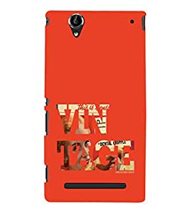 Ebby Premium Printed Mobile Back Case Cover With Full protection For Sony Xperia T2 (Designer Case)