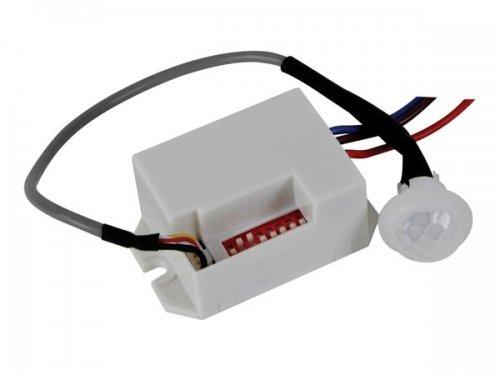 Mini PIR Bewegungsmelder 230V zum Einbau max Schaltleistung 800 Watt