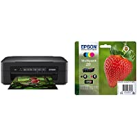 Epson Expression Home XP-255 Print/Scan/Copy Wi-Fi Printer, Black