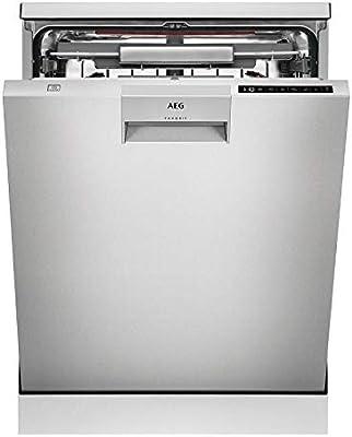 AEG FFB83806PM lavavajilla Independiente 13 cubiertos A+++ - Lavavajillas (Independiente, Tamaño completo (60 cm), Acero inoxidable, 1,6 m, 1,8 m, 1,8 m)