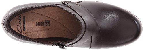Clarks Genette Frolic piatto Brown Leather