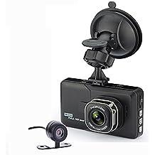 3 inch Dual Camera Car DVR Camera LR34 Dash Cam 1080P HD Video Recorder Rearview Camera Night Vision by SaShi