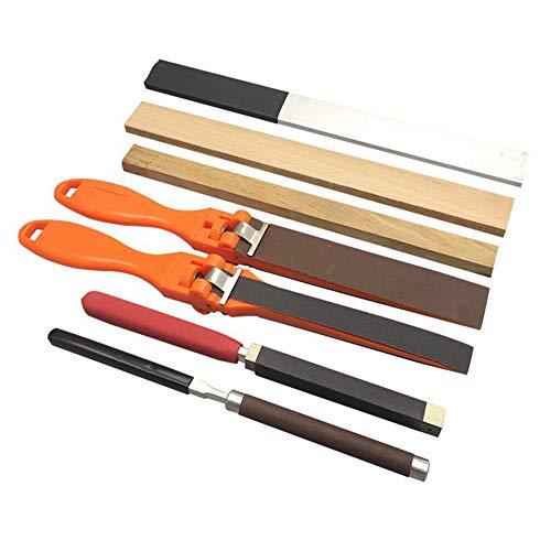 Flatfile Schleifpapier, Sandpapier-Stick Für Metall Holz Polierwerkzeug 7pcs