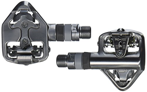 Wellgo Shimano SPD Innenlager Road Pedale, silber
