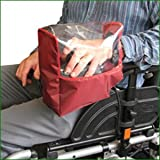 Electric Wheelchair Panel Kover - Maroon