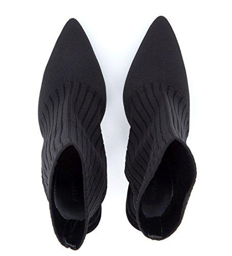 Kendall and Kylie Kkadrian, Mules Femme Noir (Black/black Knit 000)