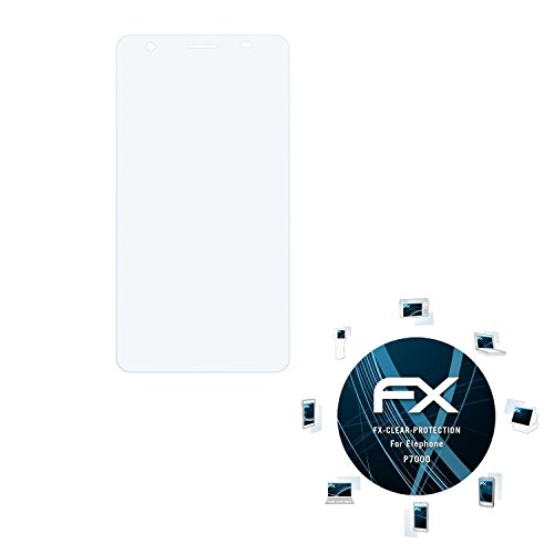 atFolix Schutzfolie kompatibel mit Elephone P7000 Folie, ultraklare FX Bildschirmschutzfolie (3X)