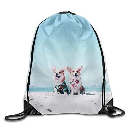 False warm warm Cargi Drawstring Backpack Rucksack Shoulder Bags Training Gym Sack for Man and Women - Roxy Rolling Rucksack