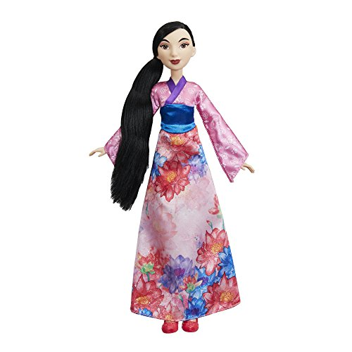 Hasbro E0280ES2 - Disney Prinzessin Schimmerglanz Mulan, Puppe - Prinzessin Disney Mulan