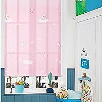 De tela de color rosa Little cm de Ángel Carcasa para escribir encima con bordes pantalla para lámpara