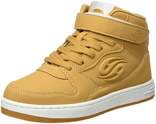 Dockers by Gerli 38di610-630, Sneaker a Collo Alto Unisex – Bambini Giallo (Golden Tan)