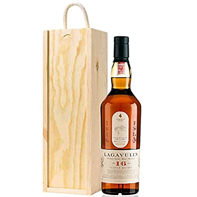Lagavulin 16 YO Whisky in Wooden Gift Box