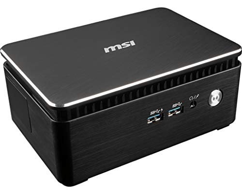 MSI 936-B15921-009 Mini PC Intel Core i3-7100U, 2X 2.40GHz, 2MB schwarz