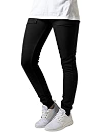 Urban Classics Damen Hose Ladies Fitted Slub Terry Pants