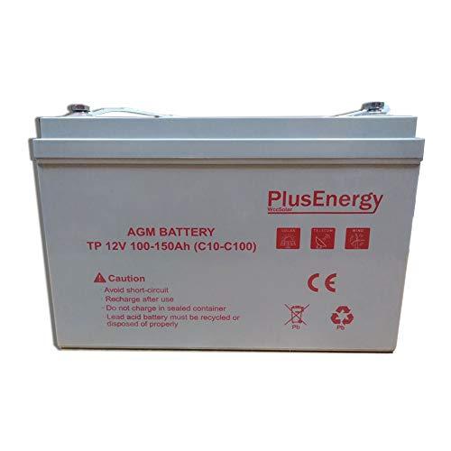 La Batería solar AGM 150Ah / 12 v PlusEnergy TP12-150 diseñada para +12 años de vida util, de diseño compacto libre de mantenimiento y sellada para evitar fugas. Perfectas para todo tipo de kit solar. La batería solar AGM 150Ah / 12 v PlusEnergy TP12...