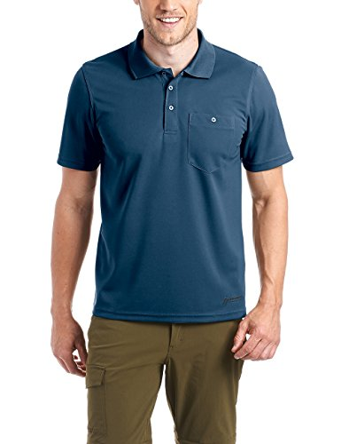 MAIER SPORTS Herren Polo Kalatti 2 aus 100% PES in 11 Größen und vielen Farben, Funktionspolo/ Poloshirt/ Funktionsshirt, schnelltrocknend und pflegeleicht Aviator