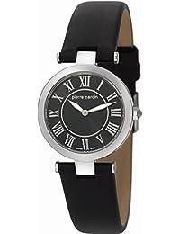 Pierre Cardin Damen-Armbanduhr Exquise Analog Quarz Leder