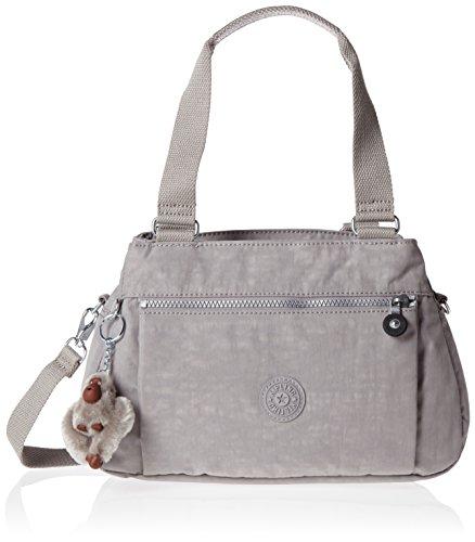 Kipling - Orelie, Bolsos de mano Mujer, Grey (N Slate Grey), 31x20.5x12 cm (W x H L)