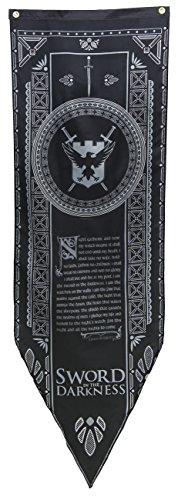 Preisvergleich Produktbild Game of Thrones Night's Watch Tournament Banner by Game of Thrones