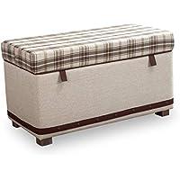 Dafnedesign.com - Ottomana Kinderzimmerbank - Sitzbank mit Kissen und Stauraum - geeignet für Jugendzimmer oder Kinder - Maße: Breite: 93 cm Höhe: 47 cm Tiefe: 52 cm - [Serie: Dafne-Real] - (DF11) - preisvergleich