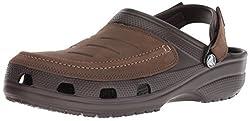 crocs Herren Yukon Vista Clog 205177-22Z Badeschuhe, Braun (Brown, 42/43 EU