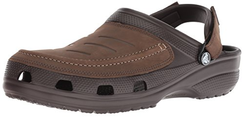 crocs Herren Yukon Vista Men Clogs, Braun Espresso 22z, 46/47 EU Original Leder Boot