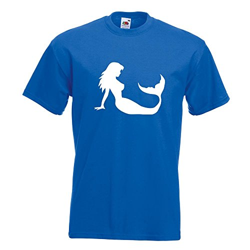 KIWISTAR - Meerjungfrau - Seejungfrau T-Shirt in 15 verschiedenen Farben -  Herren Funshirt bedruckt d68aef18ce