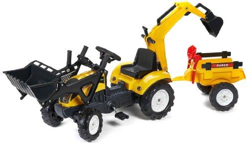 FALK Terna Ranch Trac , rimorchio, escavatore, pala , rastrello - 2055CN