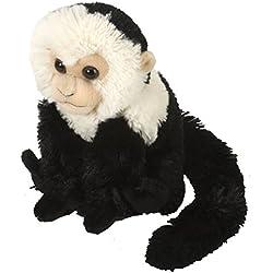 Wild Republic CK Mini Mono cariblanco/Capuchino de Peluche, 20 cm (12274)