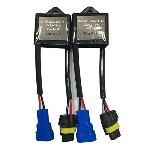 Preisvergleich Produktbild Computer Warnung Canceller Xenon HID Licht Conversion Kit Fehlerfrei Anti-flimmer Decoder Kondensator Hid Ballast Fehlercode Eliminator