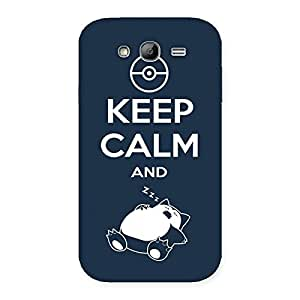 Stylish Keep Calm And Sleep Back Case Cover for Galaxy Grand Neo Plus