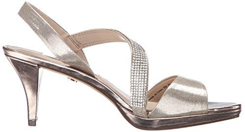 Nina Novelle Textile Sandale Taupe