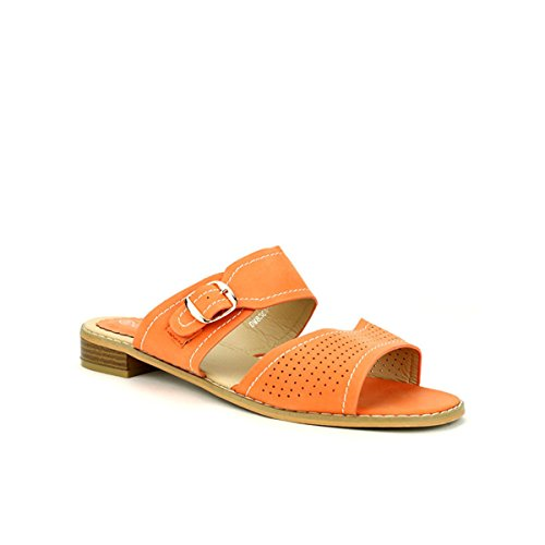 Cendriyon Mule Orange CINK Me Moda Chaussures Femme Orange