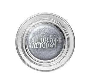 Gemey Maybelline Eye Studio Colour Tattoo 24 H Eye Shadow 50 Eternal Silver