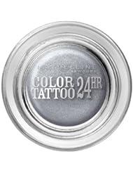 Gemey Maybelline Eye Studio Color Tattoo 24H Ombre à Paupières 50 Eternal Silver