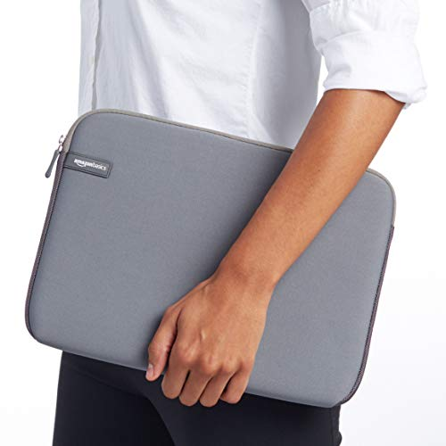 AmazonBasics 13.3-inch Laptop Sleeve (Gray) Image 3
