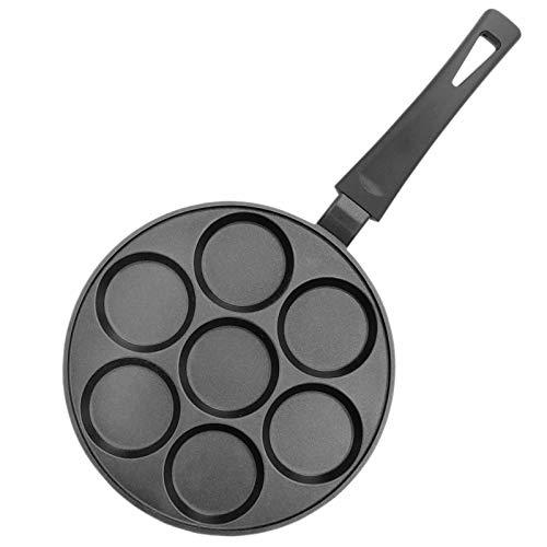Pancakes Poêle à crêpes à 2 couches avec revêtement miroir Oladji Sans motif