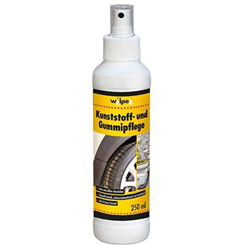 WILPEG Kunststoffpflege Gummipflege Spray Kunststoff Gummi Reifen 250 ml