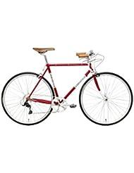 Cicli Adriatica Bicicleta 1946 Rojo