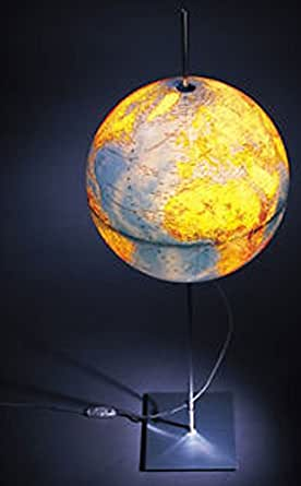 Absolut lighting globus lampe en forme de globe terrestre 90 cm