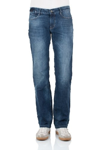 M.O.D Herren Straight Leg Jeans Joshua SP14-1006 blue quartz