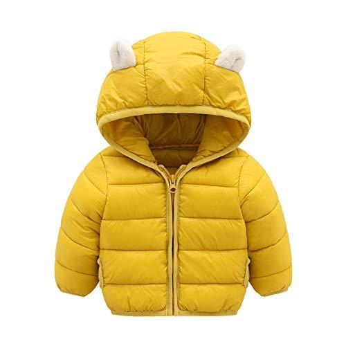 CUTUDE Baby Jungen Mädchen Kinder Kleinkind Ohren Kapuzenpullover Dick Mantel Kleidung Winter Warm Jacke Daunenjacke Winterjacke