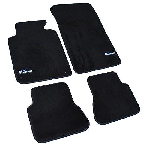 0414 NEU! Fußmatten Premium für BMW 3er (Typ E46) Cabrio