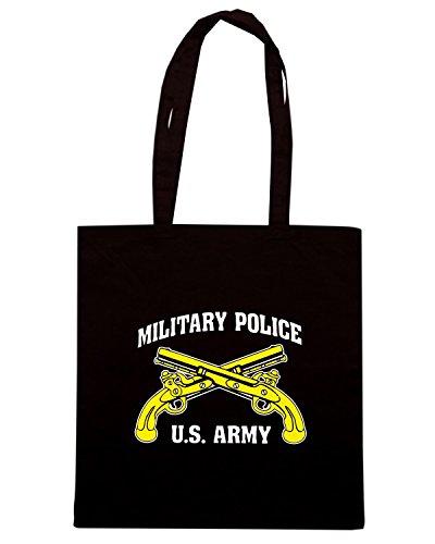 T-Shirtshock - Borsa Shopping TM0430 US Army Military Police Nero